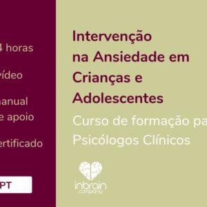 Cursos Ansiedade em Crianças e Adolescentes